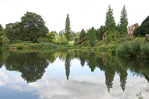 Lake at Sandringham, Example of an Editorial Photograph