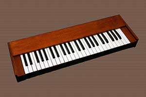 Organ Keyboard Example of an Advertising Photograph