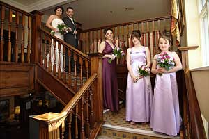 The Bridal Party Before the Ceremony